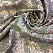 Материалы для творчества handmade. Livemaster - original item Elegant double-sided Italian jacquard with arabesques and lurex. Handmade.