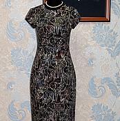 """Одежда ручной работы. Ярмарка Мастеров - ручная работа Платье футляр в стиле ретро """"Индия"""". Handmade."""