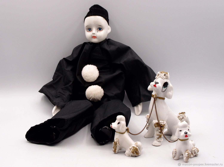 Печальный Пьеро... пропала Мальвина, Будуарная кукла, Москва,  Фото №1