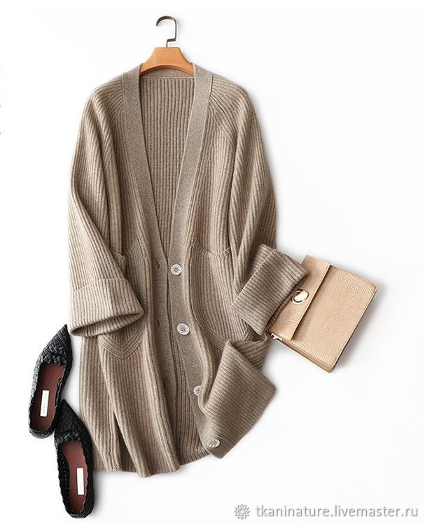 Thick knit cardigan with pockets, Cardigans, Ekaterinburg,  Фото №1