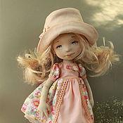 Куклы и игрушки ручной работы. Ярмарка Мастеров - ручная работа Текстильная авторская кукла Лида. Handmade.