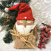 Куклы и игрушки ручной работы. Ярмарка Мастеров - ручная работа Дед Мороз-Ангел. Примитивная кукла.. Handmade.
