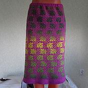Одежда ручной работы. Ярмарка Мастеров - ручная работа жаккардовая юбка Листопад. Handmade.