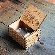 Музыкальные инструменты handmade. Livemaster - original item Beige Music box Beauty and the beast. Handmade.