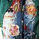Комбинезоны ручной работы. Ярмарка Мастеров - ручная работа. Купить Бохо джинсы. Handmade. Комбинированный, расшитый, гранж, цветные, шифон