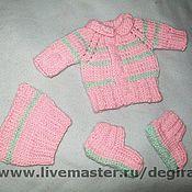 Куклы и игрушки ручной работы. Ярмарка Мастеров - ручная работа костюмчик для пупса. Handmade.