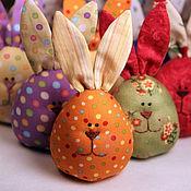 Подарки к праздникам ручной работы. Ярмарка Мастеров - ручная работа Пасхальные зайцы-яйца. Handmade.