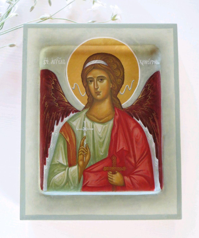 Икона Ангел Хранитель, Иконы, Москва,  Фото №1