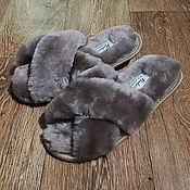 Обувь ручной работы handmade. Livemaster - original item Slippers for women. Handmade.