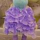 Коллекционные куклы ручной работы. Заказать Текстильная куколка малышка Софи. Юлия Соколова. Ярмарка Мастеров. Кукла текстильная, бусины
