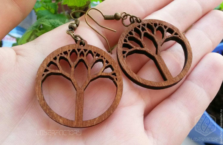 Tree Of Life Earrings Sacred Geometry