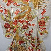 handmade. Livemaster - original item Kimono ceremonial for weddings real silk. Handmade.