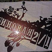 """Для дома и интерьера ручной работы. Ярмарка Мастеров - ручная работа Адресная табличка """"Малиновая"""". Handmade."""