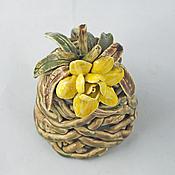 Сувениры и подарки handmade. Livemaster - original item Marsh bell flower. Handmade.