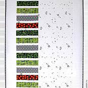 """Для дома и интерьера ручной работы. Ярмарка Мастеров - ручная работа Лоскутный плед """"Квилт модерн"""". Handmade."""
