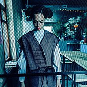 Одежда ручной работы. Ярмарка Мастеров - ручная работа Жилет двусторонний из сетки Air Mash. Handmade.