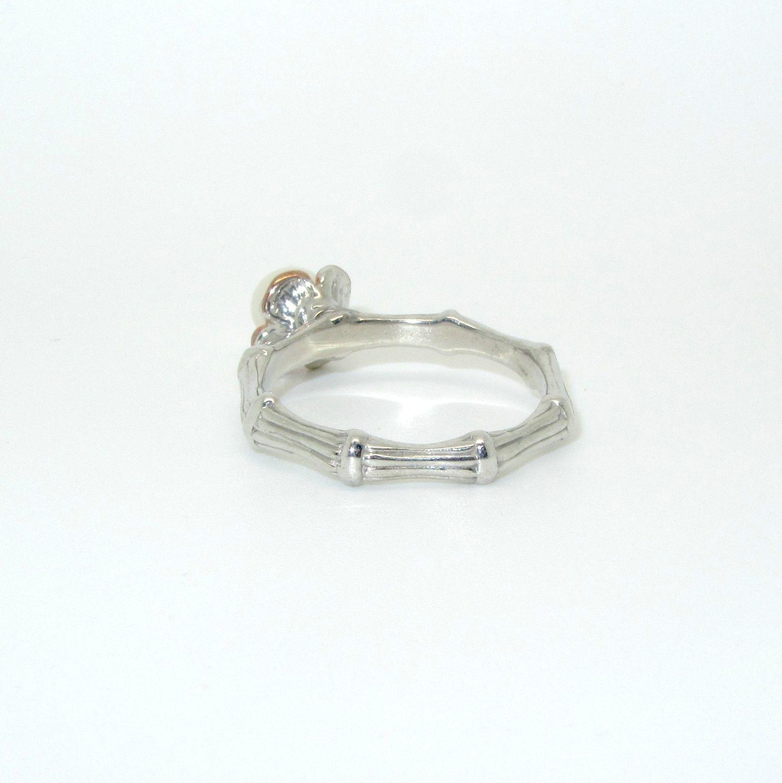 88e2456858dd Кольцо жемчуг серебро – купить в интернет-магазине на Ярмарке ...