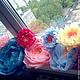 Аксессуары для фотосессий ручной работы. Роскошные цветы из итальянской бумаги. VJFK FLOWER. Ярмарка Мастеров. Оформление свадьбы, объемные цветы