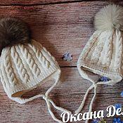 Аксессуары handmade. Livemaster - original item Knitted beanie. Children`s knitted hats.. Handmade.