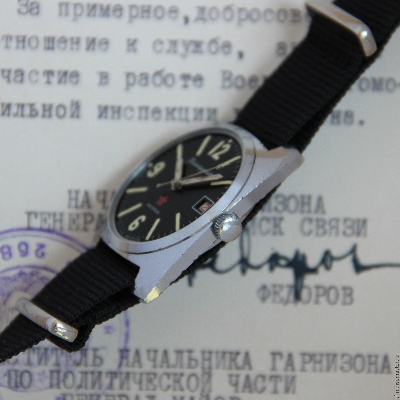 Заказать Винтаж  Восток Командирские Чистополь Заказ МО СССР механические  часы. 59e2ab555f7