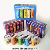 Сувениры и подарки handmade. Livemaster - original item Miniature book about St. Petersburg. Handmade.