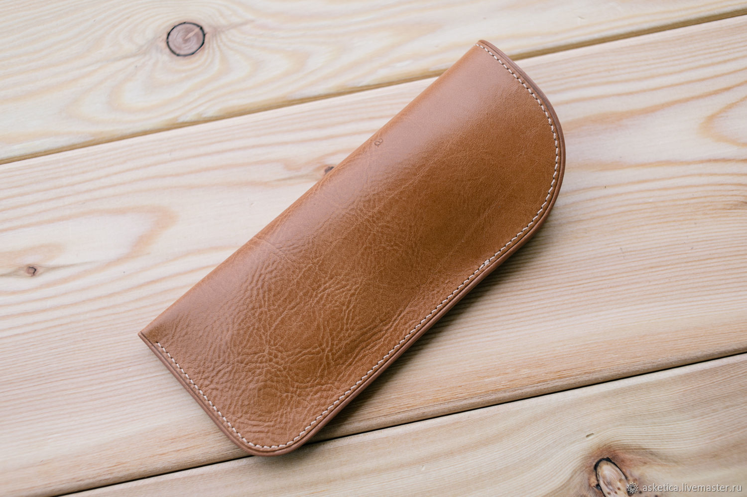 Glasses handmade. Livemaster - handmade. Buy Leather spectacle case, spectacle case, case for sunglasses.Beige, genuine
