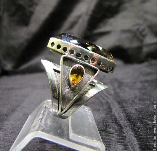 """Кольца ручной работы. Ярмарка Мастеров - ручная работа. Купить Кольцо """" Маркиза """". Handmade. Комбинированный, стильный подарок"""