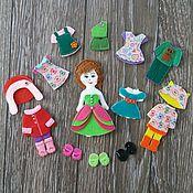 handmade. Livemaster - original item Dollhouses: Bag-house of dolls. Handmade.