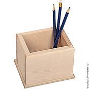 Материалы для творчества handmade. Livemaster - original item Sell out all summer! KSH131010 blank pencil holder for decoupage. Handmade.