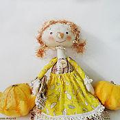 Куклы и игрушки ручной работы. Ярмарка Мастеров - ручная работа Куколка Октябринка. Handmade.