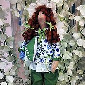 """Куклы и игрушки ручной работы. Ярмарка Мастеров - ручная работа Сплюшка """"Сонный ангел"""", с мятой в подушке. Handmade."""