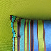Для дома и интерьера ручной работы. Ярмарка Мастеров - ручная работа Полосатые подушки. Handmade.