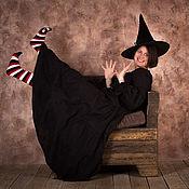Одежда ручной работы. Ярмарка Мастеров - ручная работа Платье Ведьмы за границей. Handmade.