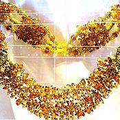 Украшения ручной работы. Ярмарка Мастеров - ручная работа Ожерелье Осени блики. Handmade.