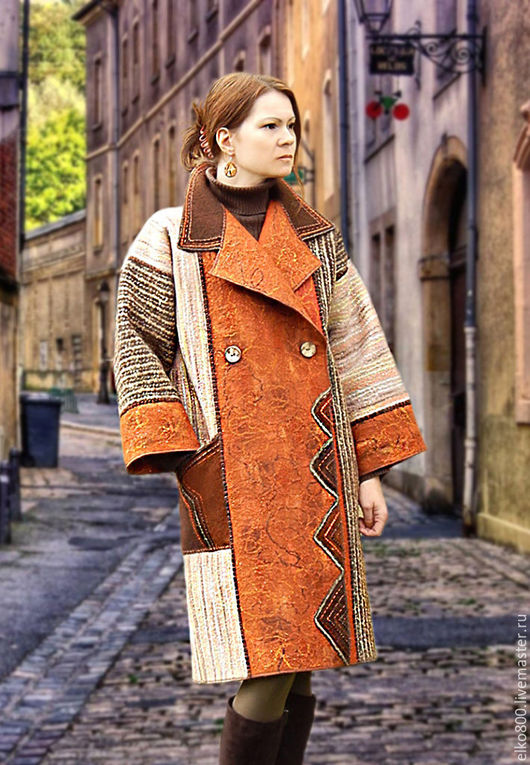 """Верхняя одежда ручной работы. Ярмарка Мастеров - ручная работа. Купить Пальто """"И снова дежа вю""""...... Handmade. шерсть"""