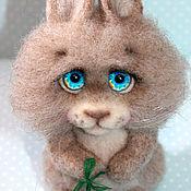 """Куклы и игрушки ручной работы. Ярмарка Мастеров - ручная работа Зайчонок """"Севочка"""". Handmade."""