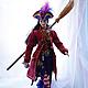 Коллекционные куклы ручной работы. Заказать Кукла Ведьма -пиратка. Лариса Исаева (kuklaelli). Ярмарка Мастеров. Кукла, натуральная кожа