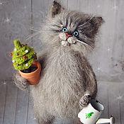 Куклы и игрушки handmade. Livemaster - original item cat Christmas. Handmade.