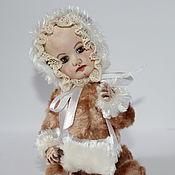 Куклы и игрушки ручной работы. Ярмарка Мастеров - ручная работа Тедди-долл Герда. Handmade.