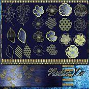 Материалы для творчества handmade. Livemaster - original item Oasis. Set of designs for machine embroidery.. Handmade.