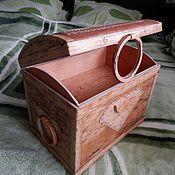 Для дома и интерьера ручной работы. Ярмарка Мастеров - ручная работа Сундук для рукоделия. Handmade.