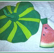 Работы для детей, ручной работы. Ярмарка Мастеров - ручная работа Берет  Арбуз, Тыква, Апельсин, лук. Handmade.