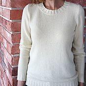 Одежда handmade. Livemaster - original item Cashmere jumper Classic. Handmade.