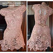 """Одежда ручной работы. Ярмарка Мастеров - ручная работа платье -""""Пепельная роза"""". Handmade."""