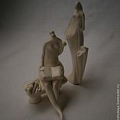 Для дома и интерьера ручной работы. Ярмарка Мастеров - ручная работа Статуэтки Дамы в летнем парке. Handmade.