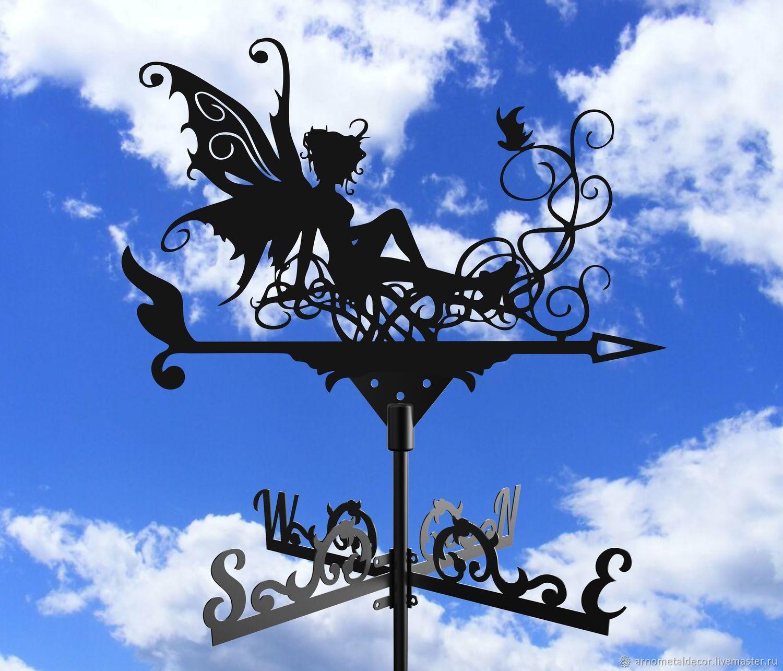 A weathervane on the roof 'Fairy', Vane, Ivanovo,  Фото №1