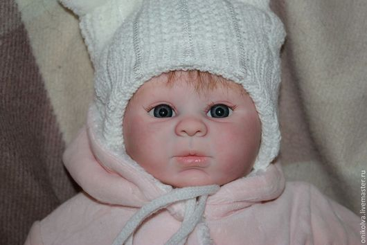 Куклы-младенцы и reborn ручной работы. Ярмарка Мастеров - ручная работа. Купить Мира. Handmade. Ярко-зелёный, синтепон
