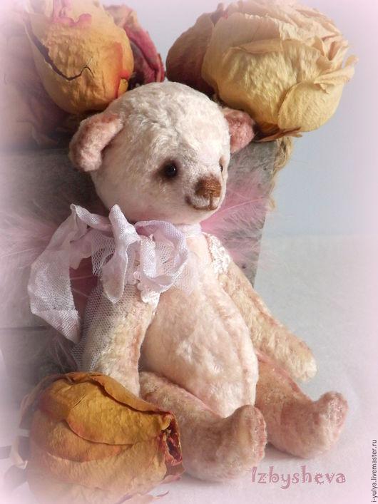 мишка, мишка тедди, тедди ангел, мишка тедди розовый, минимишка, тедди Избышевой Юлии, ангел