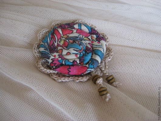 Броши ручной работы. Ярмарка Мастеров - ручная работа. Купить Брошь текстильная. Handmade. Брошь, брошка, броши, подарок учительнице