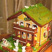 Сувениры и подарки ручной работы. Ярмарка Мастеров - ручная работа Подарочный пряничный дом. Handmade.